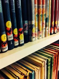 Märkning av böcker